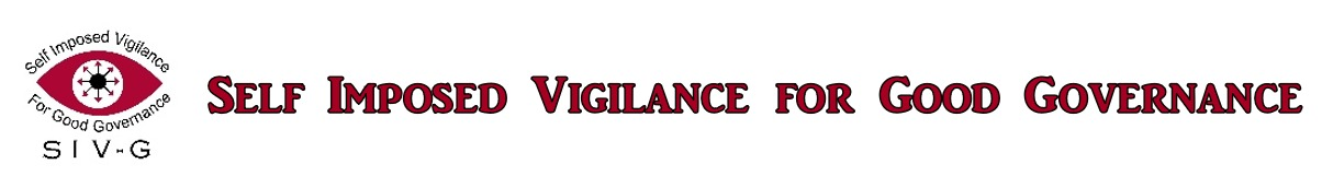 Self Imposed Vigilance for Good Governance